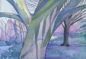 Fairyland in the bone orchard